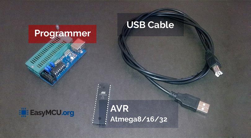 آموزش پروگرام کردن AVR و تنظیم فیوزبیت ها